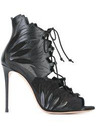 босоножки со шнуровкой Casadei