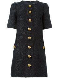 платье на пуговицах Dolce & Gabbana