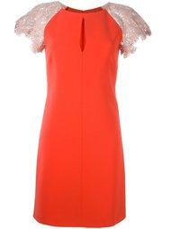 платье с контрастными рукавами Emilio Pucci