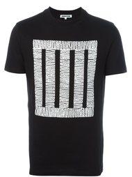 футболка с принтом квадрата McQ Alexander McQueen