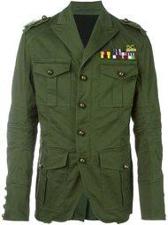 куртка в стиле милитари 'Golden Arrow'  Dsquared2