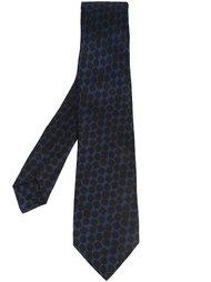 галстук с геометрическим узором Kiton