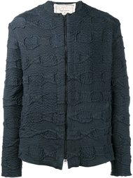 фактурная куртка на молнии By Walid