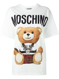 футболка с принтом плюшевого медведя Moschino