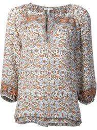 блузка с принтом Joie