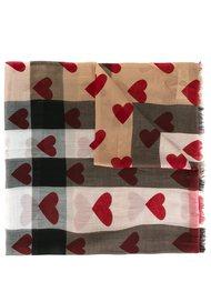 шарф с седцами Burberry