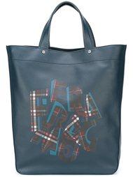 сумка-тоут с логотипом  Salvatore Ferragamo
