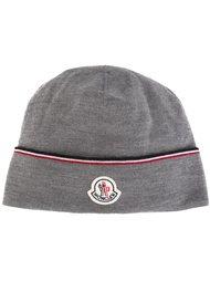 шапка-бини с логотипом Moncler
