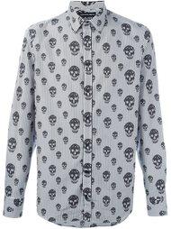 рубашка с принтом черепов  Alexander McQueen