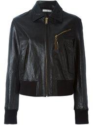 кожаная куртка на молнии Golden Goose Deluxe Brand