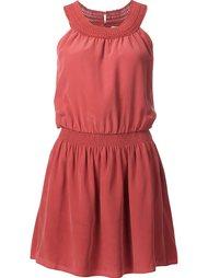 платье с вышивкой Joie