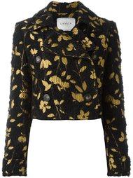 куртка с цветочной вышивкой Lanvin