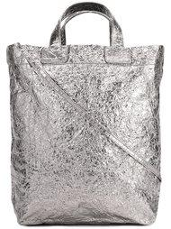 средняя сумка-тоут с отделкой металлик Zilla