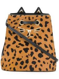 сумка-мешок на плечо 'Feline' Charlotte Olympia