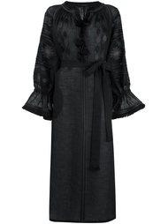 платье макси с вышивкой Vita Kin