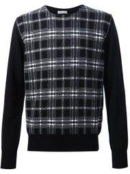 свитер в клетку Tomas Maier