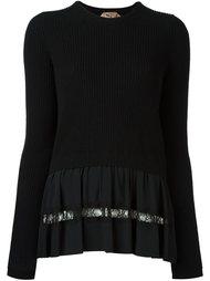 свитер с круглым вырезом  Nº21