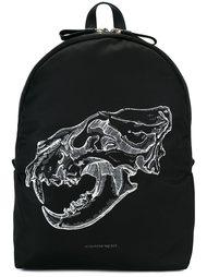 рюкзак с принтом черепа Alexander McQueen