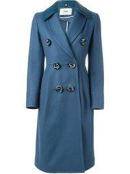двубортное пальто  Fendi