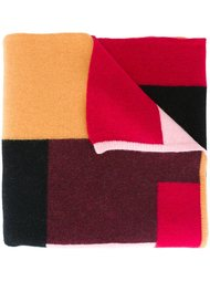 шарф с панельным дизайном Dsquared2