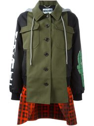 многослойная куртка бомбер Moschino