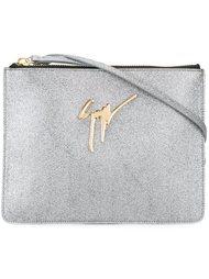 сумка на плечо с логотипом Giuseppe Zanotti Design