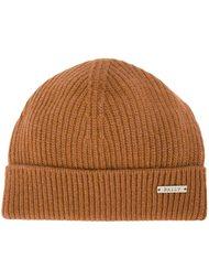 шапка ребристой вязки Bally