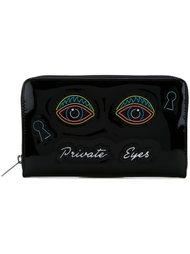 "кошелек с нашивками ""Private Eyes"" Yazbukey"