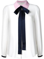 блузка с бантом  Roksanda