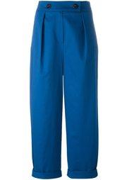 брюки с завышенной талией Kenzo