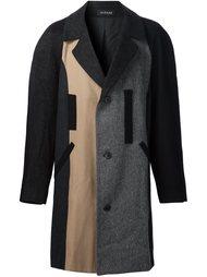однобортное пальто Icosae