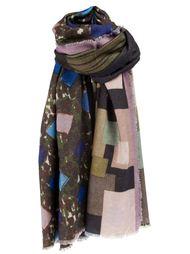 шарф с абстрактным рисунком Pierre-Louis Mascia