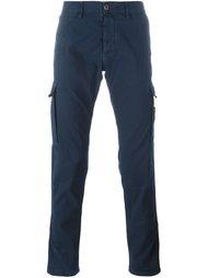 зауженные брюки с накладными карманами Stone Island