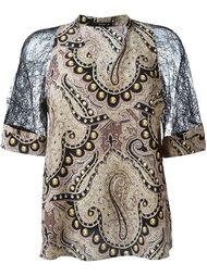 кружевная блузка  Etro