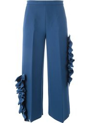 брюки с оборками  MSGM