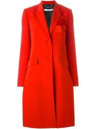 пальто с контрастным карманом Givenchy