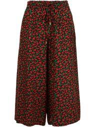 широкие брюки с цветочным принтом  Vanessa Seward