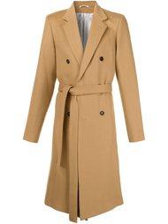 двубортное пальто  Ann Demeulemeester