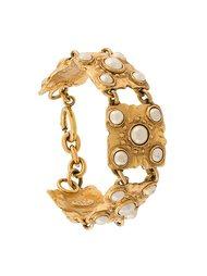 браслет из квадратных звеньев Chanel Vintage