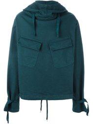 свитер с накладными карманами Nº21