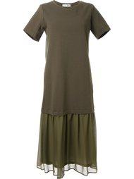 платье с оборками  Muveil