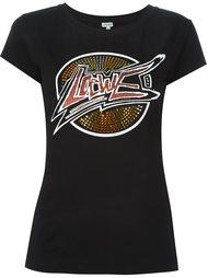 футболка с декорированным логотипом Loewe