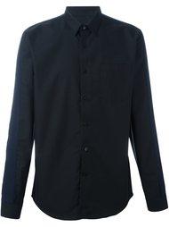 рубашка с контрастными рукавами Ami Alexandre Mattiussi