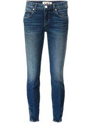укороченные джинсы  Amo