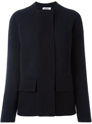 текстурированная куртка с карманами Jil Sander