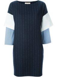 платье с многоярусными рукавами Erika Cavallini