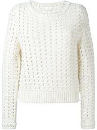 свитер открытой вязки Chloé