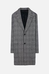 пальто в клетку Ami Alexandre Mattiussi