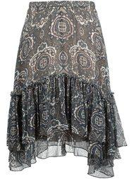 юбка с рюшами Chloé