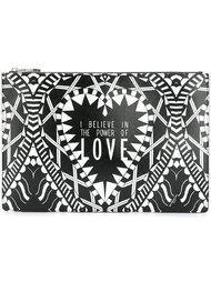 клатч с принтом 'Power of Love' Givenchy